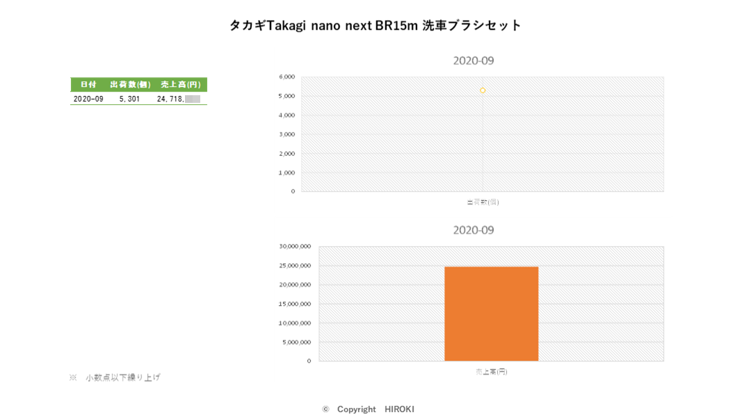 タカギTakagi nano next BR15m 洗車ブラシセット